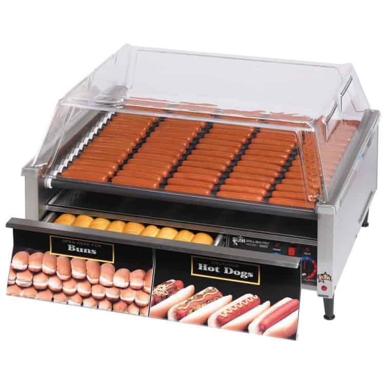 Hot Dog Rolling Grill