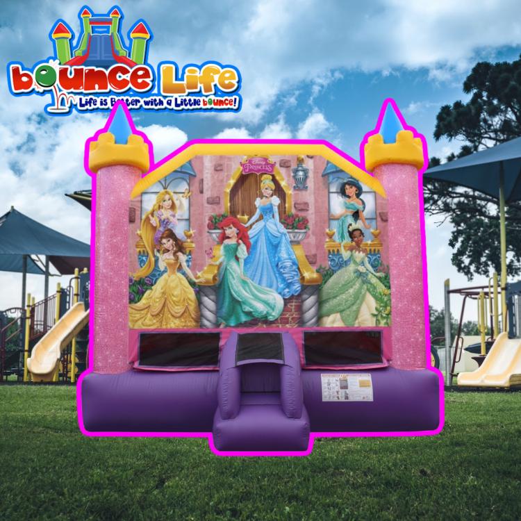 Disney Princess Bounce House 15x15