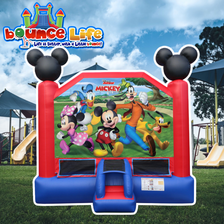 Mickey and Friends Bounce House 15x15