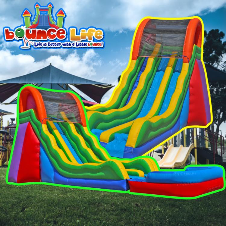 20 Dual Fun Slide Wet or Dry